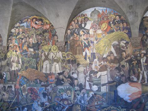 diego rivera mural history of mexico