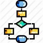 Flowchart Icon Flow Chart Icons Premium Getdrawings