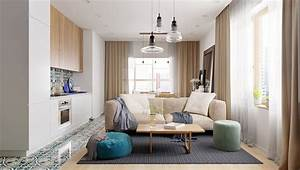 Refurbished, Contemporary, Small, Apartment, In, Moscow