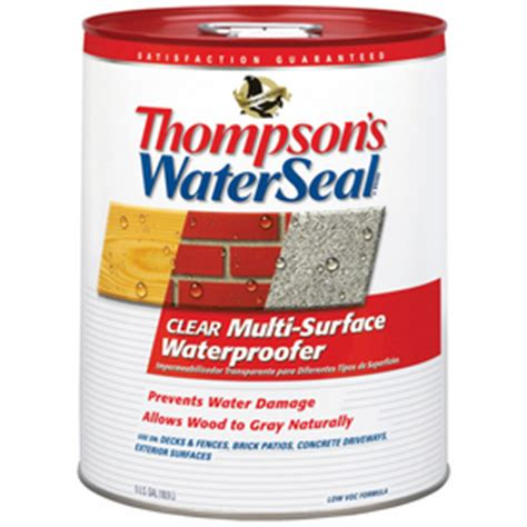 shop thompsons waterseal  gallon wood sealant  lowescom