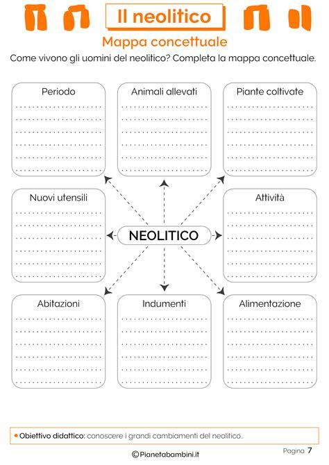 il neolitico schede didattiche  la scuola primaria