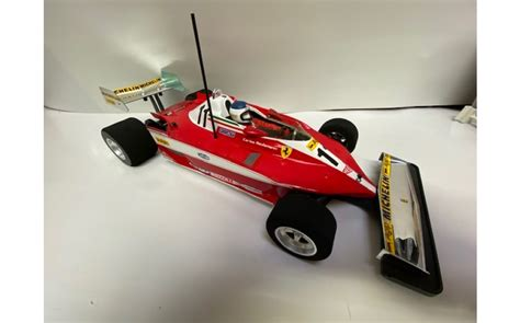 3.2mm) and longitudinal battery position. Tamiya Ferrari 312T3 (F104W) - Professionally Built - Sussex Model Centre -SMC