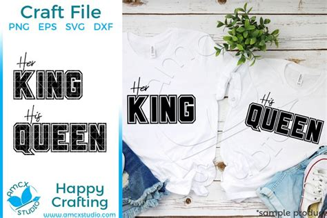 svgs   king  queen couples svg file  design resources