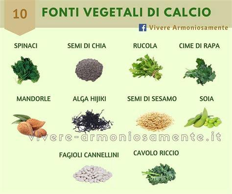Calcio Alimenti Vegetali Fonti Vegetali Di Calcio Cibo E Le Sue Propriet 224 Italia
