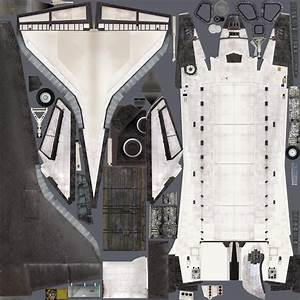 Space Shuttle Model Texture (page 3) - Pics about space