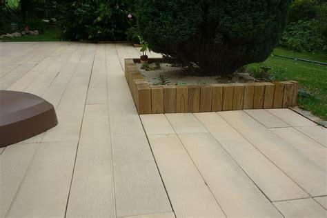 terrasse beton imitation bois nos conseils