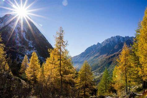 Hiking In Autumn In Italy Trekking Alps