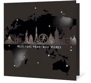 carte de voeux moderne carte de vœux 2018 haut de gamme