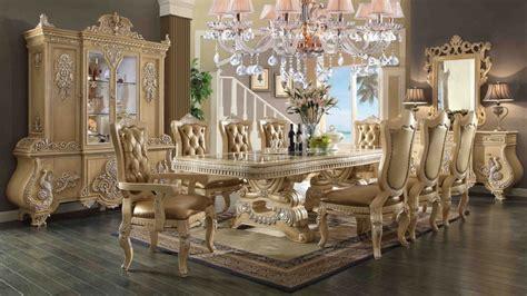 wood dinner table hd 7266 homey design dining room set european