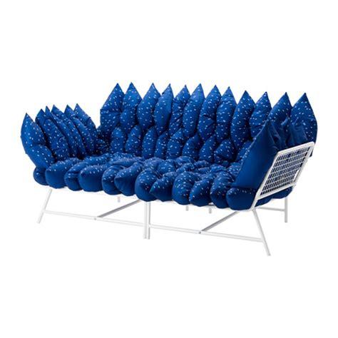 coussin canapé ikea ikea ps 2017 canapé 2 places avec 36 coussins blanc bleu