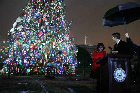 gerard in capitol hill tree lighting