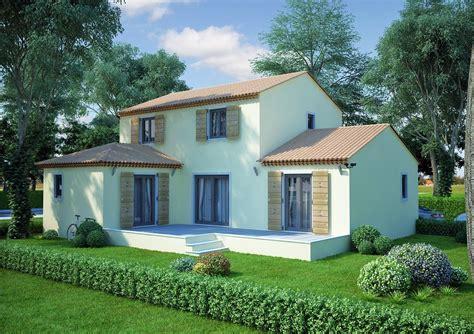 plan maison plain pied 3 chambres 100m2 maison en l de 130m2 lavande traditionnel azur logement