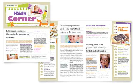 newsletter template   publisher photo