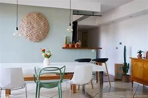 ma nouvelle salle a manger en vert de gris juliana de With beautiful photo peinture salon 2 couleurs 5 peinture murs de mon entree salon cuisine