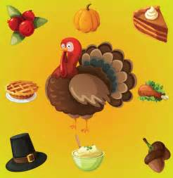Thanksgiving Day Clip Art Vector