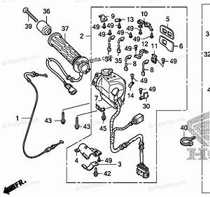 Honda Motorcycle 2006 Oem Parts Diagram For Handle Switch  2