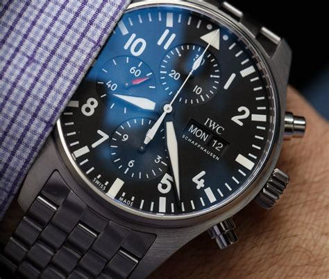 Iwc Pilot's Watch Chronograph 3777 Timepieces For 2016