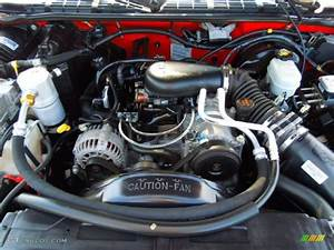 2003 Chevrolet S10 Ls Regular Cab 4 3 Liter Ohv 12v Vortec V6 Engine Photo  71059334