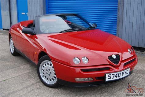 1998 Alfa Romeo Spider T Spark 16 V, Fsh, Invoices