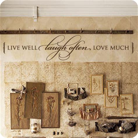 live well laugh often love much wall art