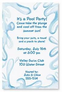 Appreciation Party Invitation Wording Quick Easy Printable Pool Party Invitations