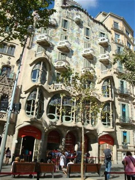 Exterior Of Gaudi House In Barcelona City  Picture Of