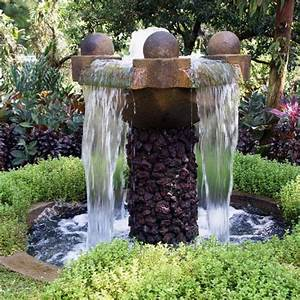 10 Relaxing and Decorative Outdoor Water Fountains - Rilane