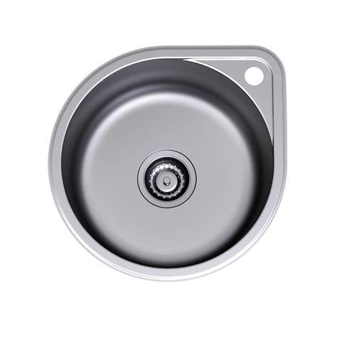 round stainless steel sink clark round overmount stainless steel sink tap landing 1th