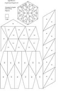 Free Printable English Paper Piecing Quilt Pattern