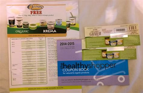 healthy shopper coupon book