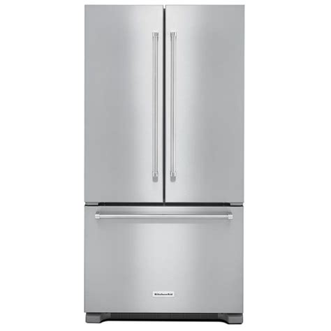 Counter Depth Refrigerator Dimensions Kitchenaid by Kitchenaid Krfc302ess Counter Depth Refrigerator With