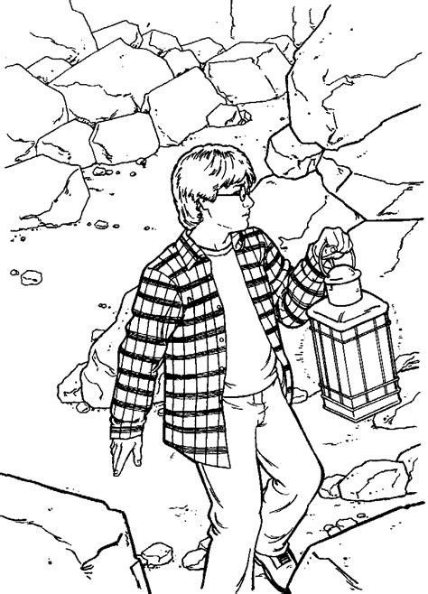 Kleurplaten Enzoknol by N 26 Coloring Pages Of Harry Potter And The