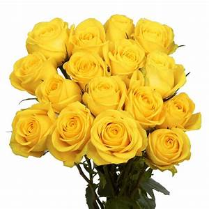 Globalrose Fresh Yellow Roses (50 Stems)-50-yellow-roses ...