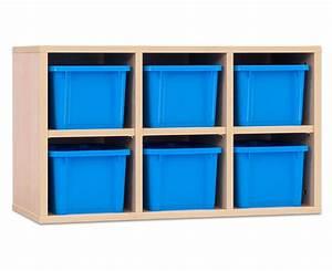 Boxen Zum Verstauen : garderoben h ngeregale chippo mit blauen boxen ~ Indierocktalk.com Haus und Dekorationen