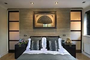 idees deco pour la chambre adulte en 57 tableaux deco cool With idee deco cuisine avec lit japonais