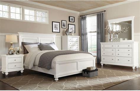 Bridgeport 6 Piece Queen Bedroom Set White The Brick