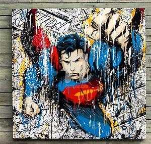 Toile Street Art : supersplash creyone 132 ~ Teatrodelosmanantiales.com Idées de Décoration