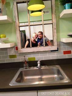 mirror above kitchen sink 1000 ideas about faux window on windows 7528