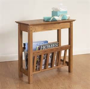 chairside magazine rack by manchester wood traditional