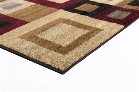 Multi Contemporary Abstract 9x12 Area Rug Boxes Carpet