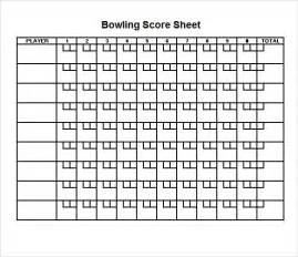 Bowling Spreadsheet Sle Bowling Sheet 8 Documents In Pdf Psd Word Excel