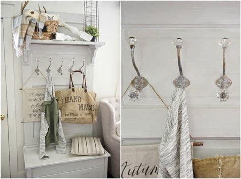 Garderobe Im Landhausstil Aus Alter Tür
