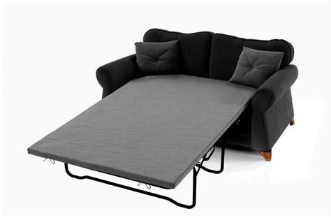 canapés de qualité canapé 2 places convertible en tissu de qualité tomy noir
