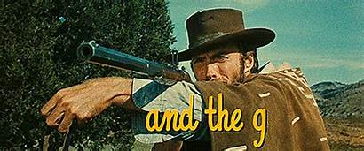 Bad Ugly Eastwood Clint Lee Cleef Shooting