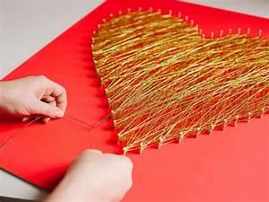 Modern String Art Heart HGTV
