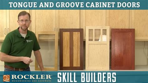 tongue and groove kitchen cabinet doors intro to tongue and groove cabinet doors rockler skill 9481