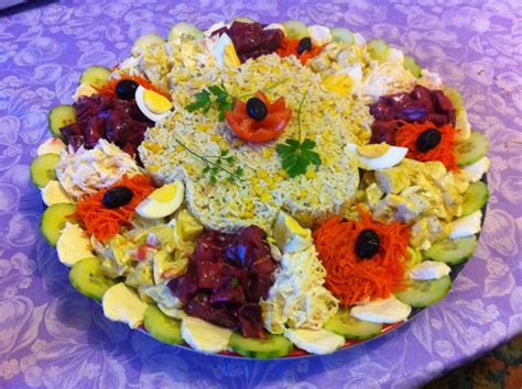 cuisine marocaine salade salade composée pour grande tablée entrée salade