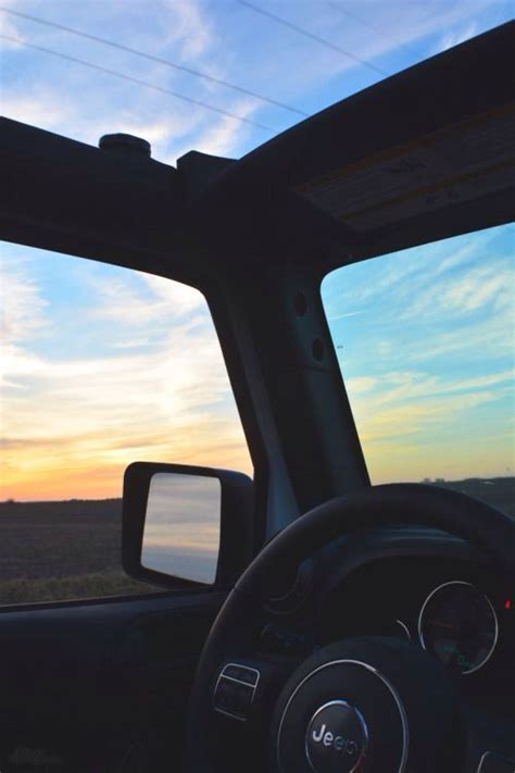 jeep beach sunset jeeps the view and sunsets on pinterest