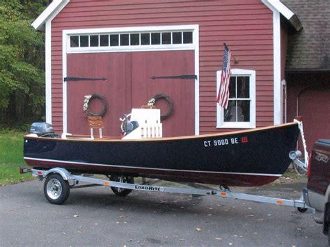 illstreet epoxy  jericho bay lobster skiff wooden
