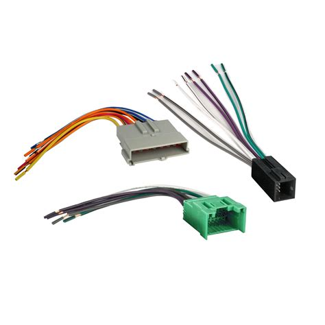 1994 Mustang Wiring Harnes by Car Stereo Wire Harness Set For 1994 2000 Ford Explorer
